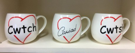 Anyone can cuddle ceramic mug